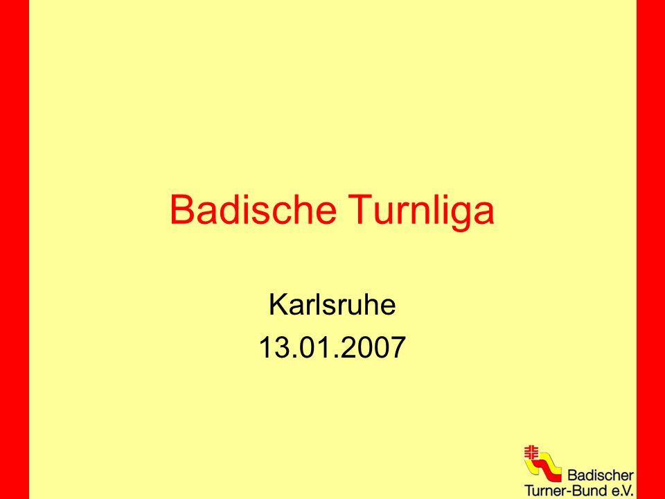 Badische Turnliga Karlsruhe 13.01.2007