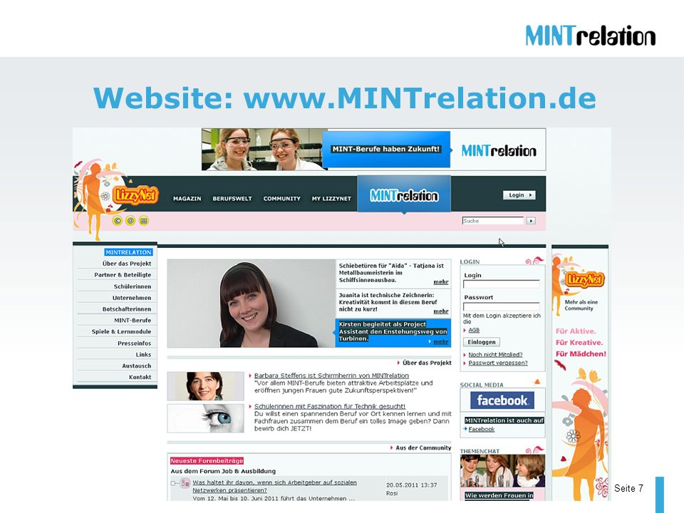 Seite 7 Website: www.MINTrelation.de