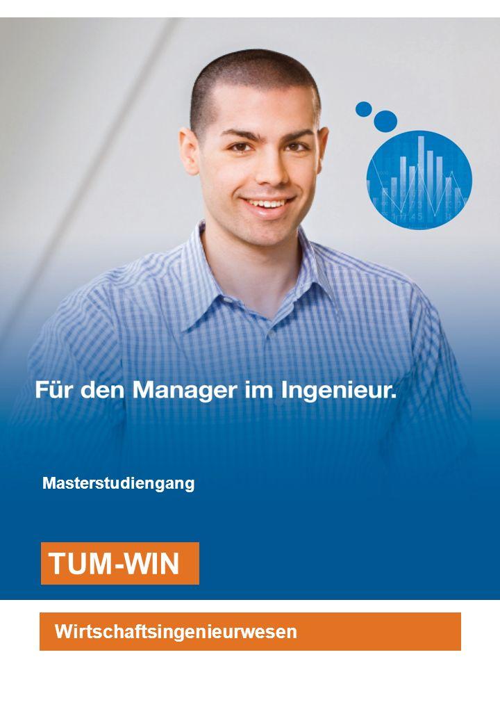 TUM School of Management Technische Universität München 5.3 Studienfortschritt Führung eines Punktekontos für jeden Studierenden Keine Maluspunkte bei Nichtbestehen einer Prüfung, sondern Studienfortschrittskontrolle, d.h., der Studierende muss bis zum Ende - des 3.