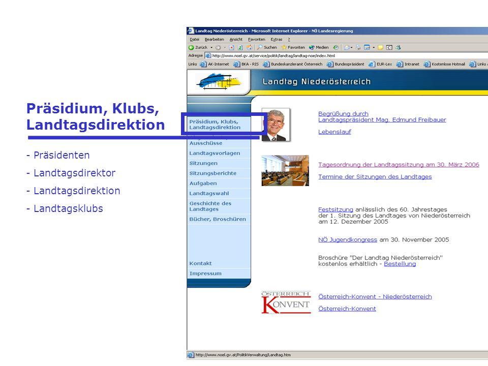Virtuelles Besucherzentrum im Internet seit 2005 Statistik