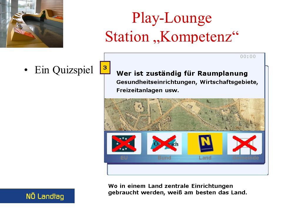 Play-Lounge Station Kompetenz Ein Quizspiel