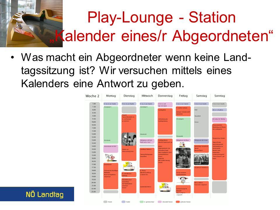 Play-Lounge Station Kompetenz Ein Quizspiel
