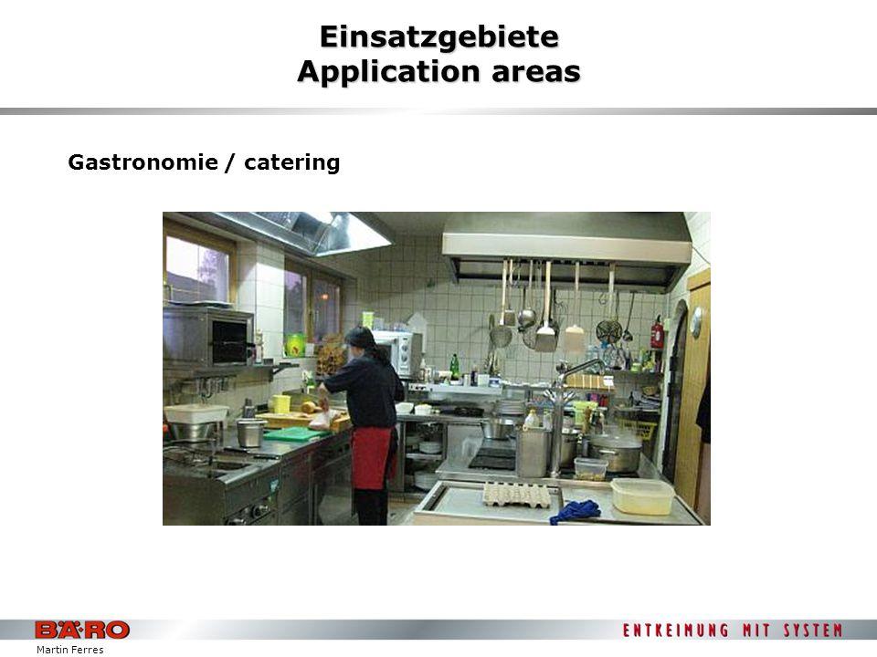 Martin Ferres Einsatzgebiete Application areas Bäckerein / baker`s shops