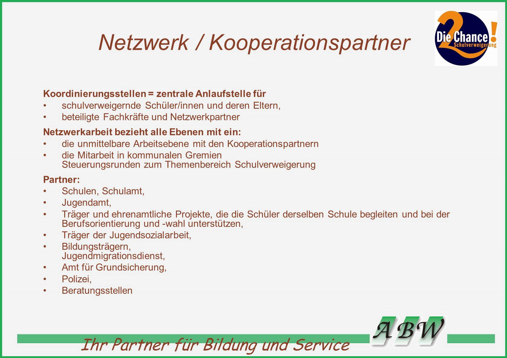 Ihr Partner für Bildung und Service Kontakt Projektleitung Arlette Kolenda Inka Grieser Angermünder Bildungswerk e.V.