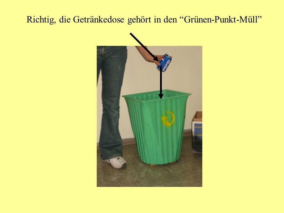 Klare Mülltrennung klappt nur...... wenn alle Schüler und Schülerinnen unserer Schule mitmachen und den Müll sorgfältig trennen! Also aufgepasst...