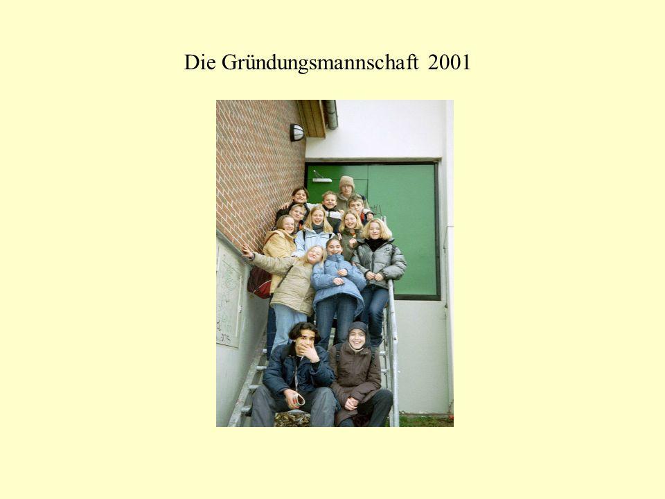 Die Gründungsmannschaft 2001