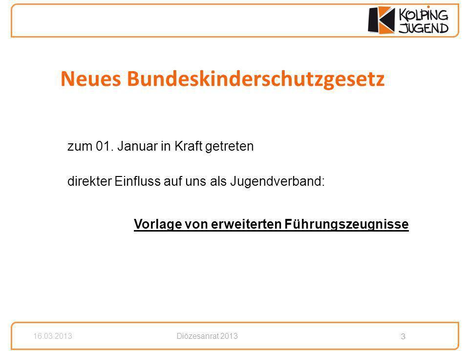 3 Diözesanrat 2013 3 16.03.2013 zum 01.