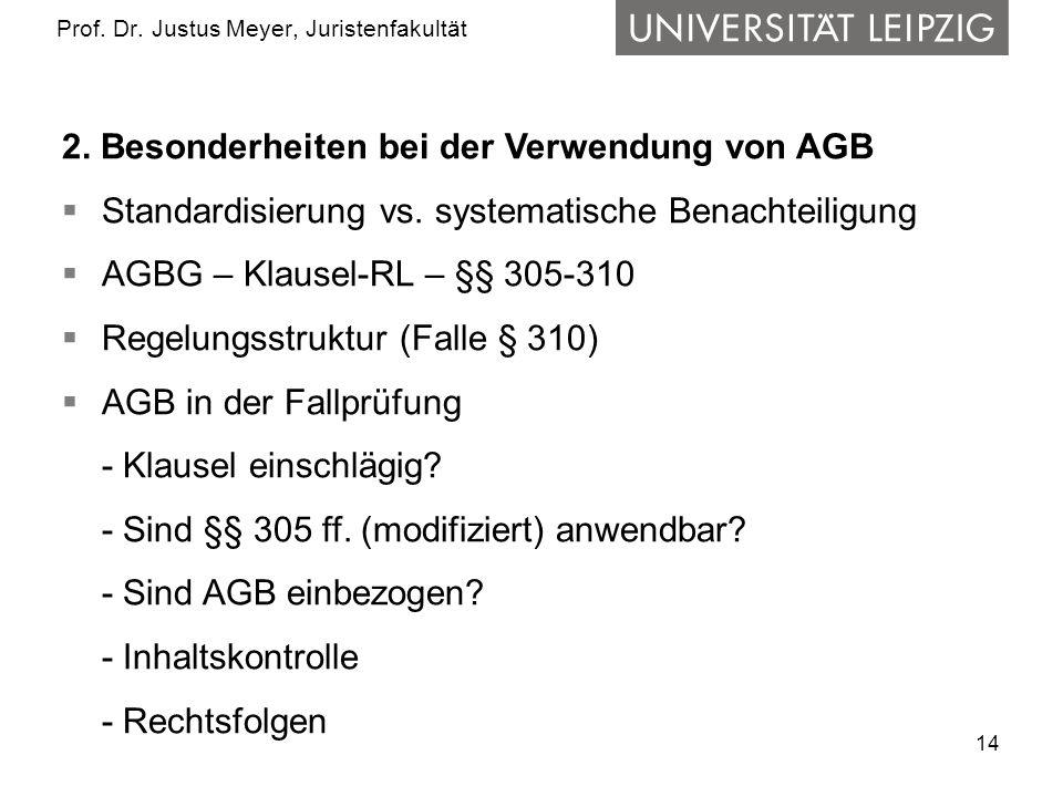 14 Prof.Dr. Justus Meyer, Juristenfakultät 2.