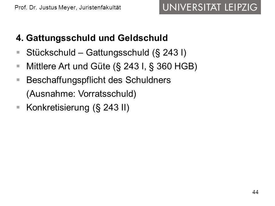 44 Prof.Dr. Justus Meyer, Juristenfakultät 4.