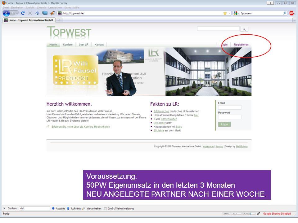 Start Russland Frühjahr 2011 - registrieren Sie sich schon jetzt unter Tulskaja www.topwest.de Sichern Sie sich schon jetzt Ihre Position im LR- Gesch