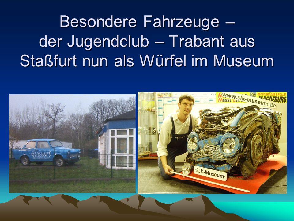 Fahrzeugmuseum Staßfurt Wartburg 353 W Sport Cabrio