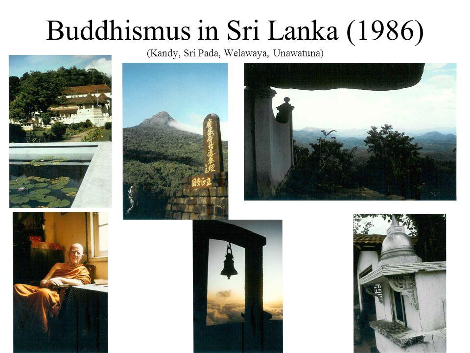 Buddhismus in Bonn: Traditionsanbindungen der Gemeinschaften (2000)