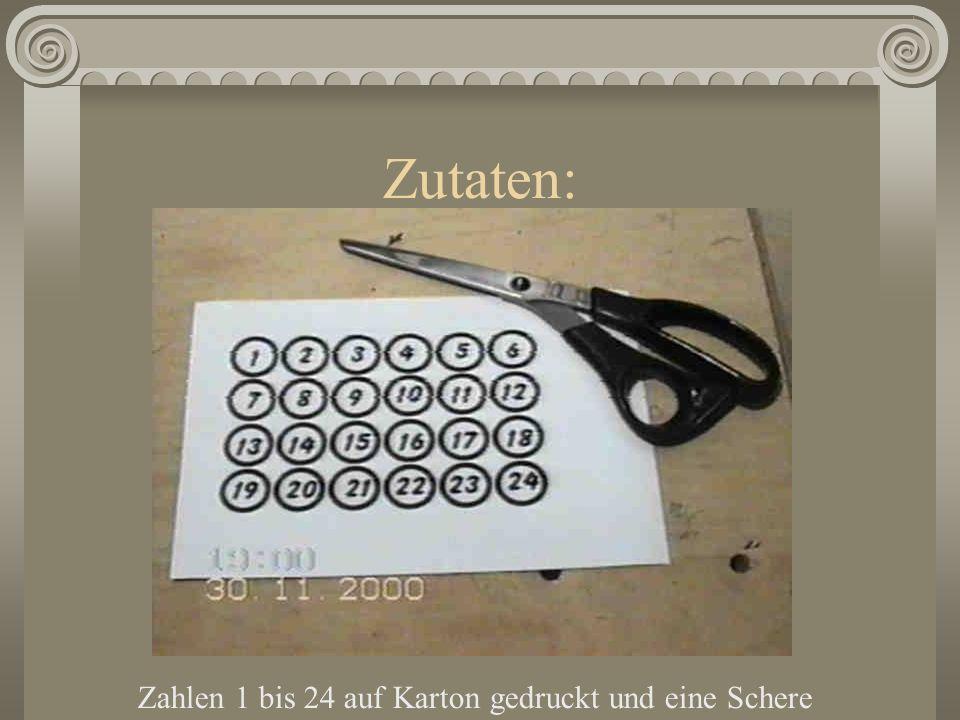 Man nehme: Hammer, Zollstock, Wasserwaage, Feile, Bohrmaschine mit 10er Bohrer, 2 x 10er Dübel, Schlüsselschrauben und Schraubenschlüssel. Gebetbuch!