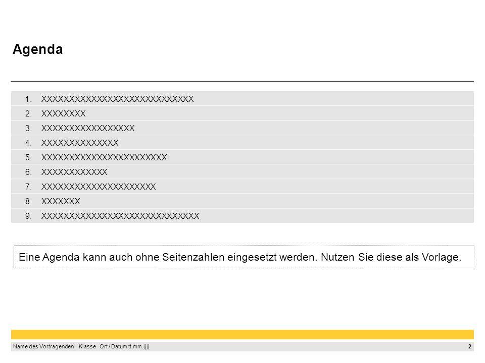 13 Name des Vortragenden Klasse Ort / Datum tt.mm.jjjj So werden Quellen wissenschaftlich zitiert (2/2) Zitieren Sie Ihre Internet-Quellen in folgender Form in der Fußzeile Autorname, Vorname: Name des Artikels, Name des Anbieters, URL, aufgerufen am: Datum Beispiel wörtliches Zitat: –Die Busschnittstelle (BU=Bus Unit) bildet die Verbindung zur Außenwelt, d.h.