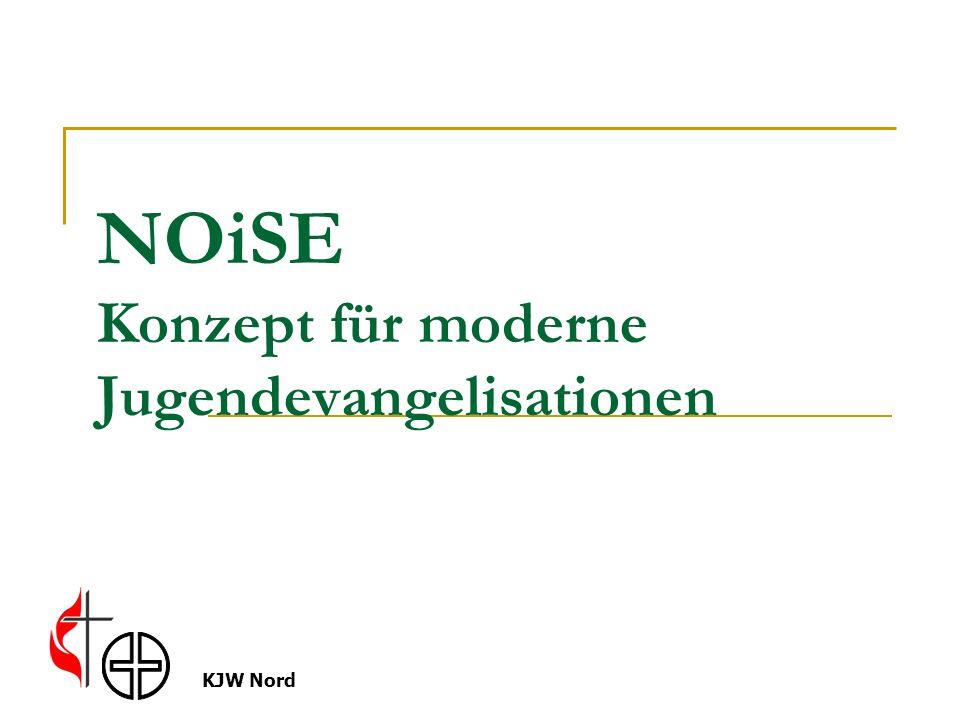 KJW Nord NOiSE Konzept für moderne Jugendevangelisationen