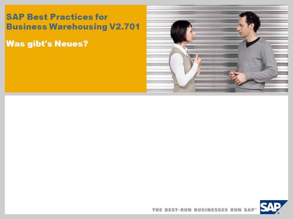 © SAP 2009/Seite 2 Was gibt s Neues Einsatz von SAP BW als zugrunde liegende Data-Warehouse-Persistenzschicht Basierend auf SAP BW 7.0 Enhancement Package 1 Verwendung von BW-Standardinhalten: BW-Data-Store-Objekte BW-InfoCubes BW-Queries Verfügbarkeit von Ad-hoc-Analysen, die zusätzliche SAP-BusinessObjects-Tools nutzen: Mithilfe von SAP-BW-Queries generierte SAP BusinessObjects-Universen Ad-hoc-Erstellung von Web-Intelligence-Berichten Ad-hoc-Browsing mit BusinessObjects Explorer Verwendung von QaaWS (Query as a Web Service) in Xcelsius-Dashboards Szenario- und Content-Änderungen: Fünf verschiedene Szenarios zu den Kategorien Sales, Purchasing, Manufacturing, Financial und CEO Analytics Direkter Zugriff auf analytische Funktionen über geschäftsbereichsspezfische Dashboards Trend-, Plan- und Ist-Werte in jedem Dashboard Link zu relevanten Web-Intelligence-Berichten und SAP BusinessObjects Explorer Einfache Anpassung der Änderungsfunktionen für Web-Intelligence-Berichte ohne Rich Client Vollständig integriert in SAP NetWeaver Business Client (SAP NWBC) 3.0 Kurzübersicht zu den Änderungen und Neuerungen