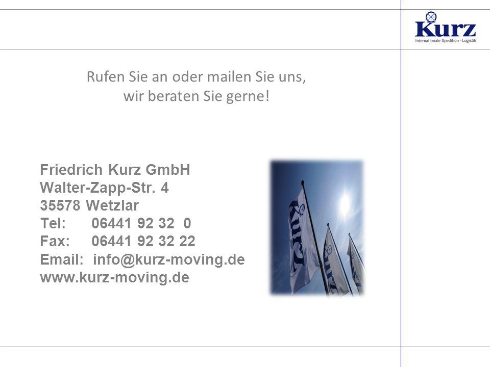Seite 10 Friedrich Kurz GmbH Walter-Zapp-Str.