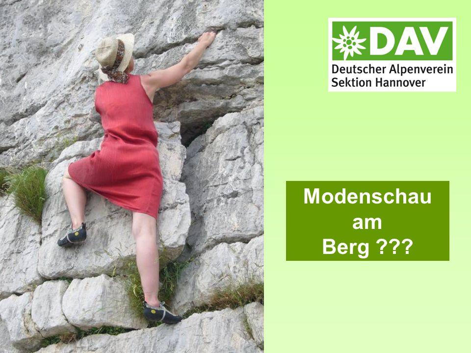 Modenschau am Berg ???