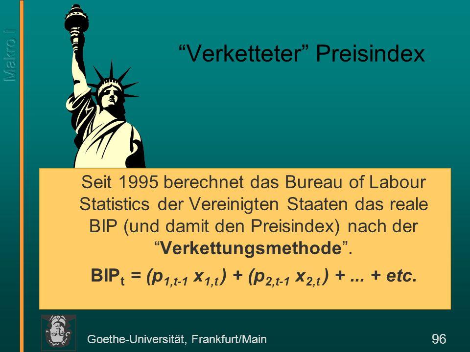 Goethe-Universität, Frankfurt/Main 97 StaatskonsumStaatsdefizit III.
