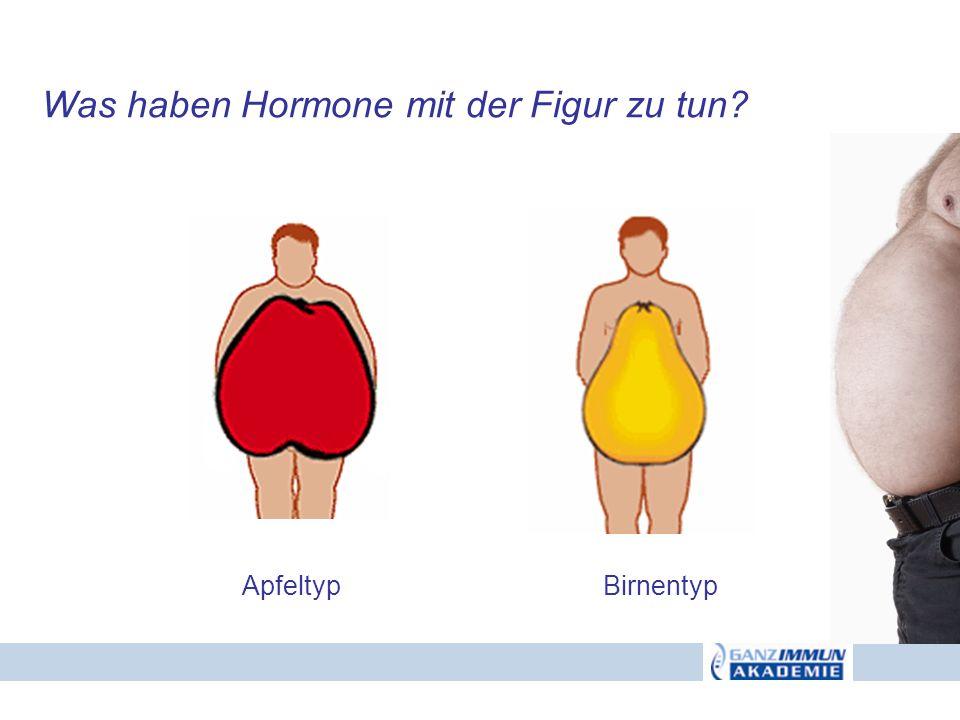 Was haben Hormone mit der Figur zu tun? ApfeltypBirnentyp
