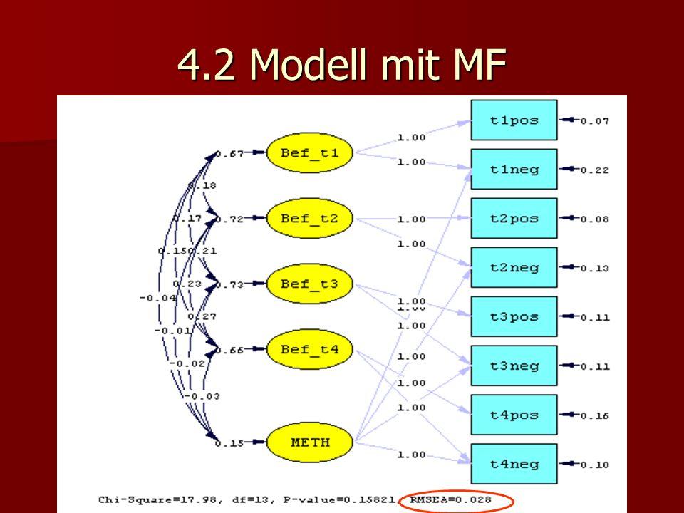 4.2 Modell mit MF