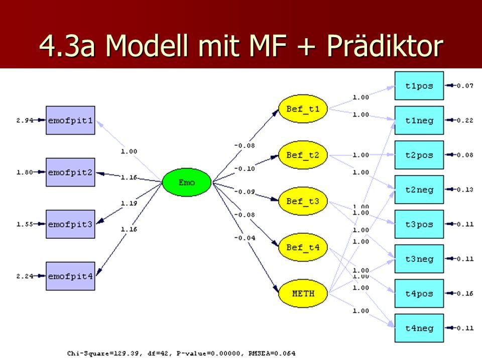 4.3a Modell mit MF + Prädiktor