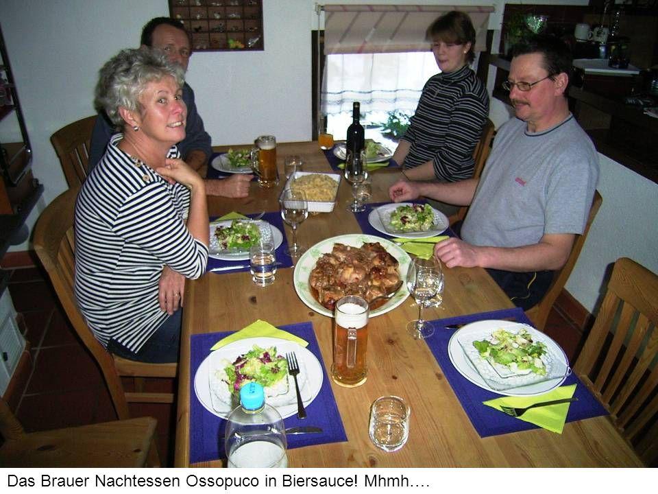 Das Brauer Nachtessen Ossopuco in Biersauce! Mhmh….
