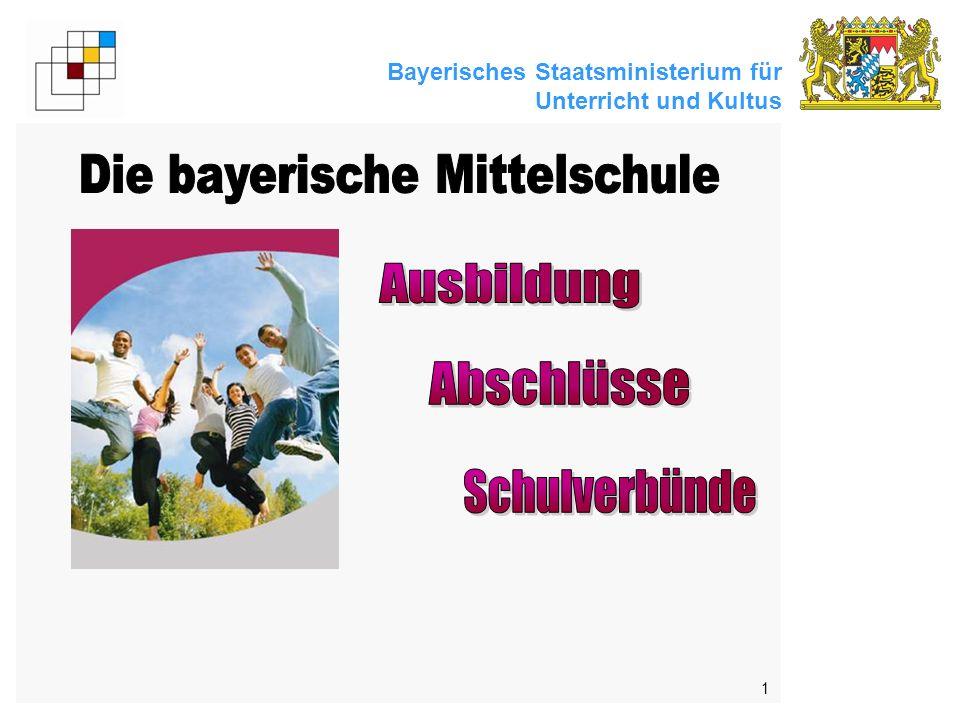 Bayerisches Staatsministerium für Unterricht und Kultus 1