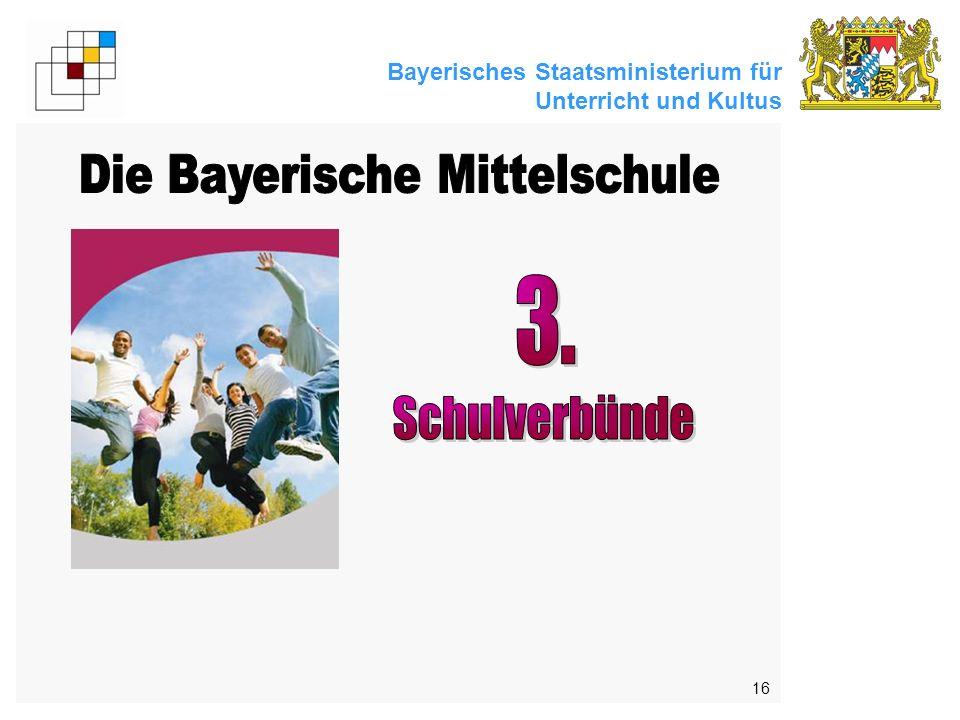 Bayerisches Staatsministerium für Unterricht und Kultus 16