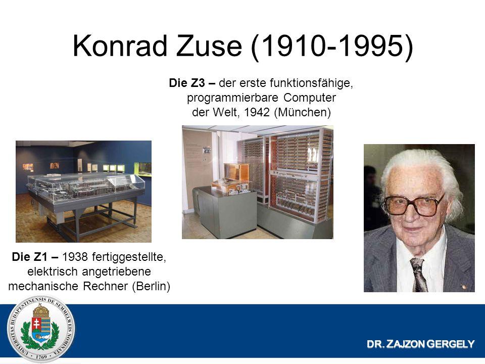 Konrad Zuse (1910-1995) DR.