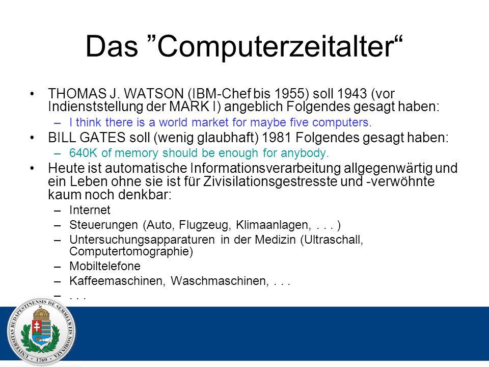 Das Computerzeitalter THOMAS J.