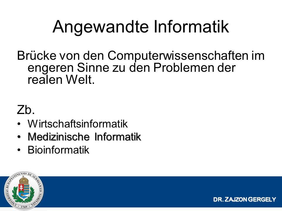 Kommunikation DR. Z AJZON G ERGELY