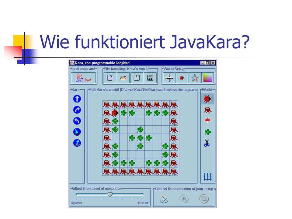Wie funktioniert JavaKara?