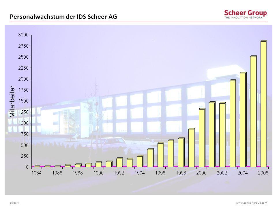www.scheer-group.com Standortentwicklung IDS Scheer Seite 5 Büroräume der IDS Prof.