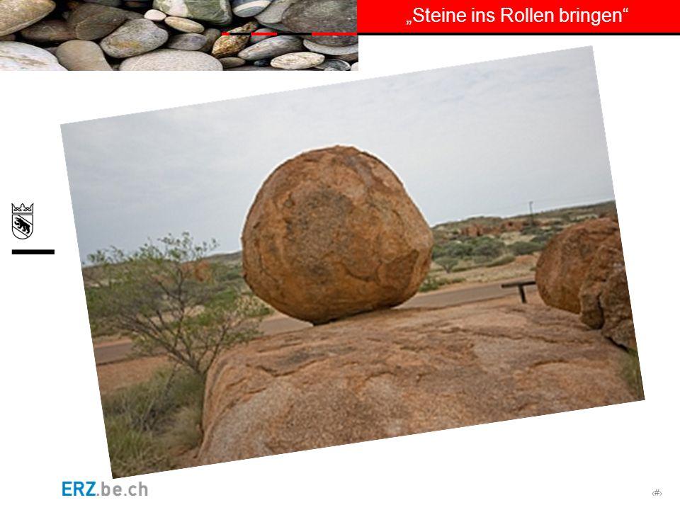 # Steine ins Rollen bringen 5.