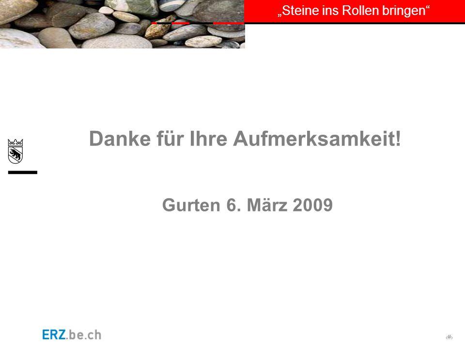 # Danke für Ihre Aufmerksamkeit! Gurten 6. März 2009