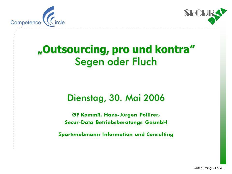 Outsourcing – Folie 2 Dimensionen des Sourcings