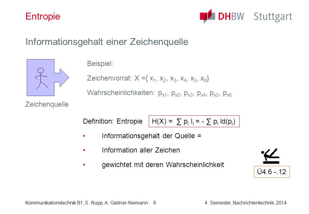 Kommunikationstechnik B1, S.Rupp, A. Gärtner-Niemann4.