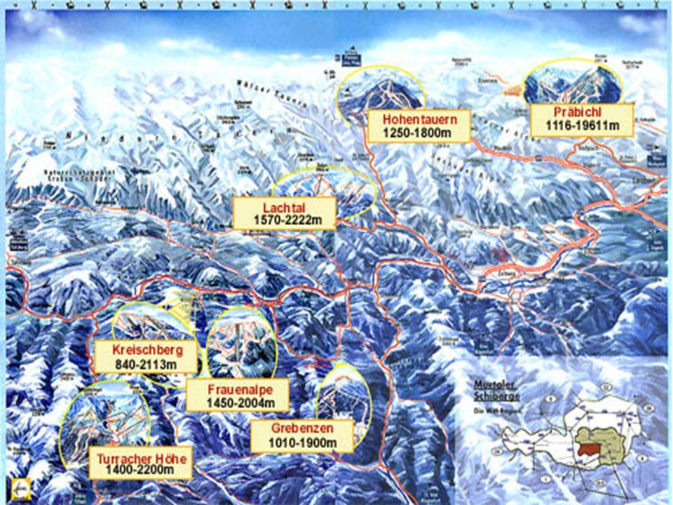 Themenbereich Tourismus in den Bergen