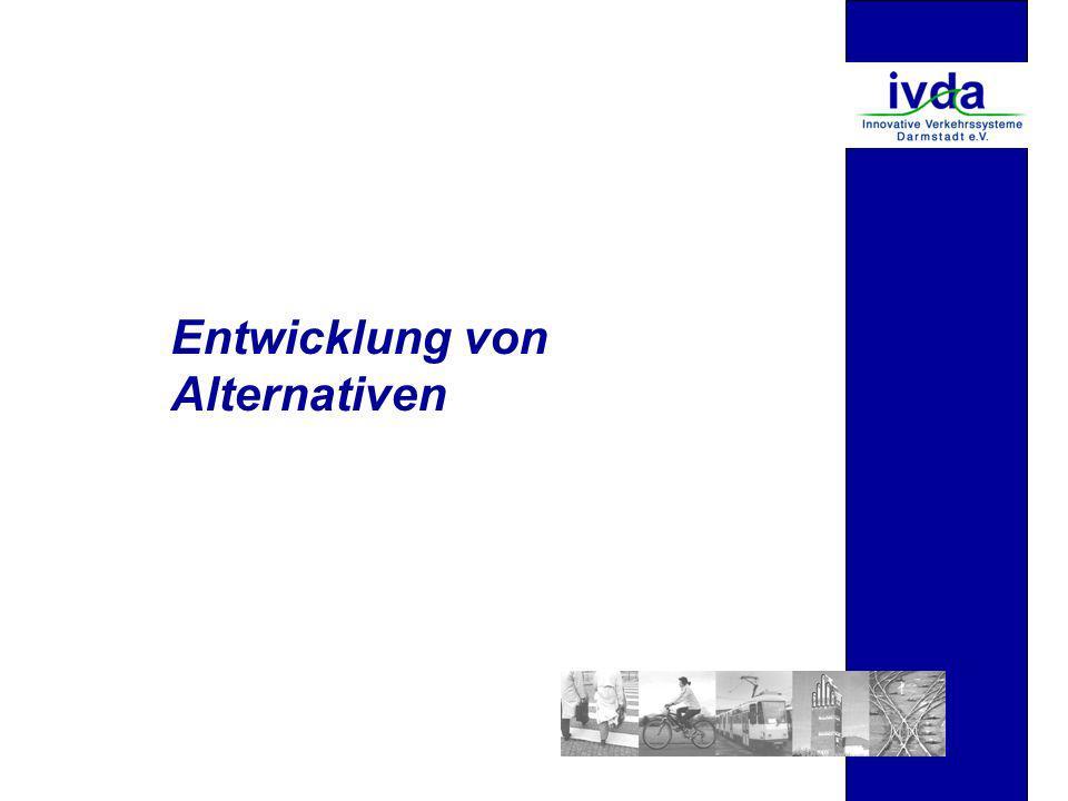 Entwicklung von Alternativen