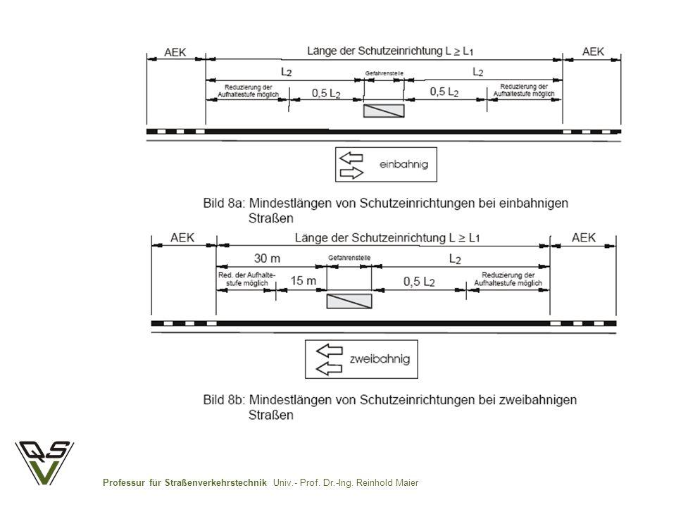 Professur für Straßenverkehrstechnik Univ.- Prof. Dr.-Ing. Reinhold Maier