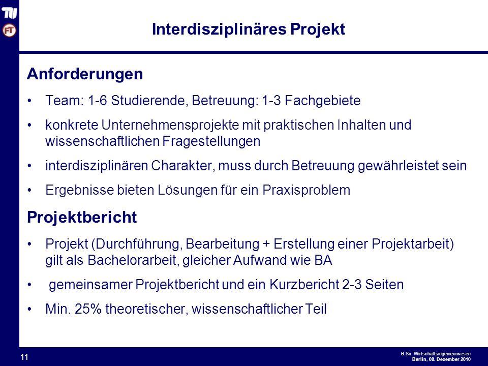 - 11 - B.Sc.Wirtschaftsingenieurwesen Berlin, 08.