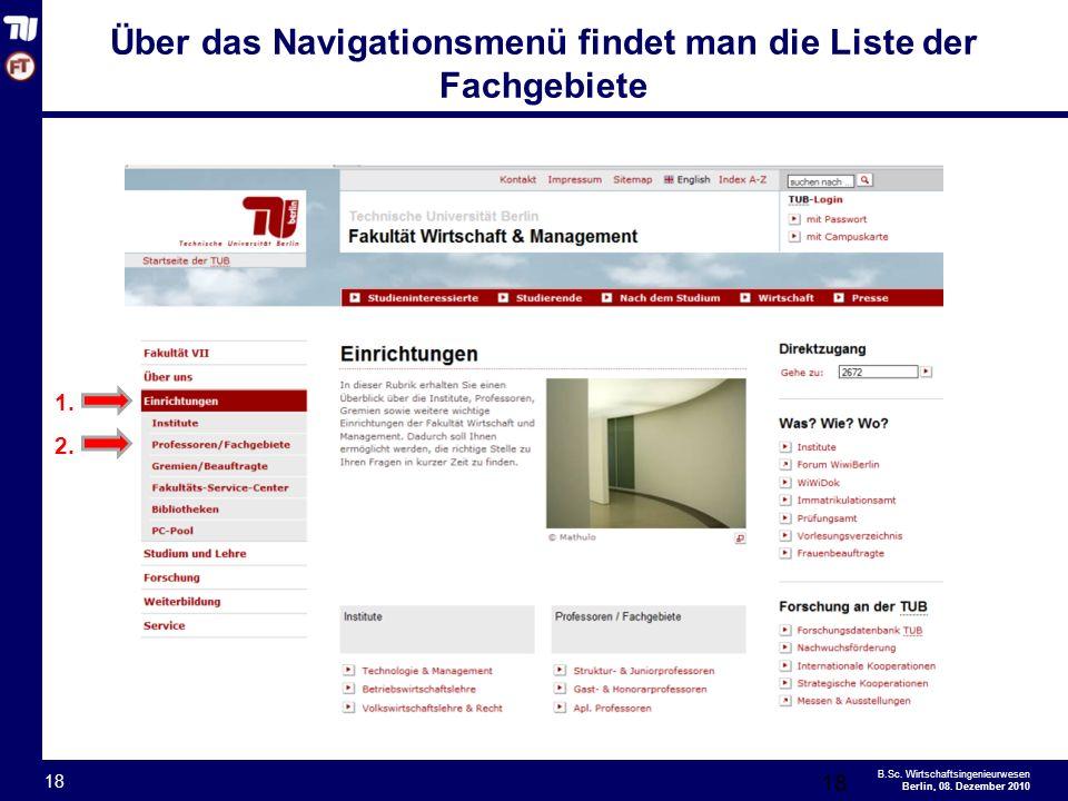 - 18 - B.Sc.Wirtschaftsingenieurwesen Berlin, 08.