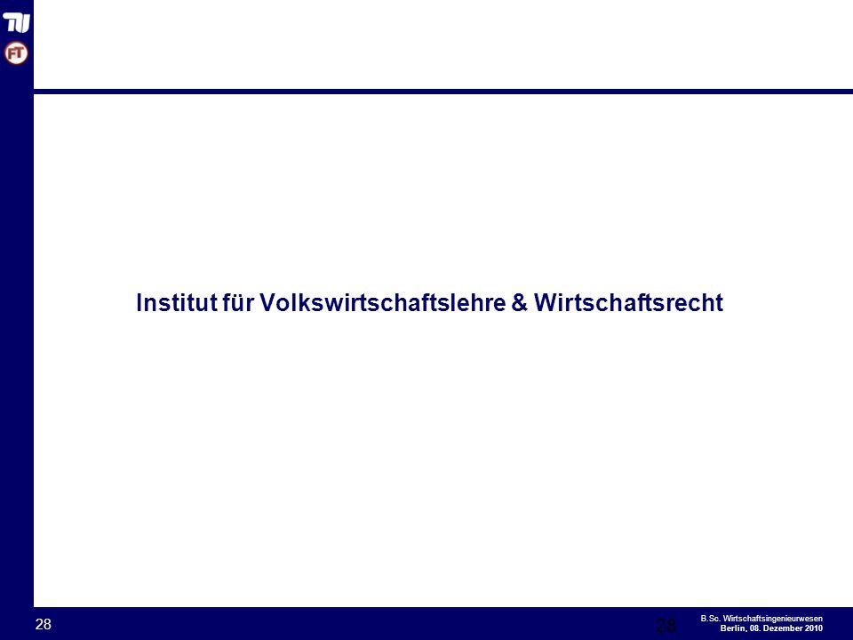 - 28 - B.Sc.Wirtschaftsingenieurwesen Berlin, 08.