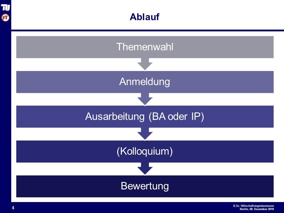 - 4 - B.Sc.Wirtschaftsingenieurwesen Berlin, 08.