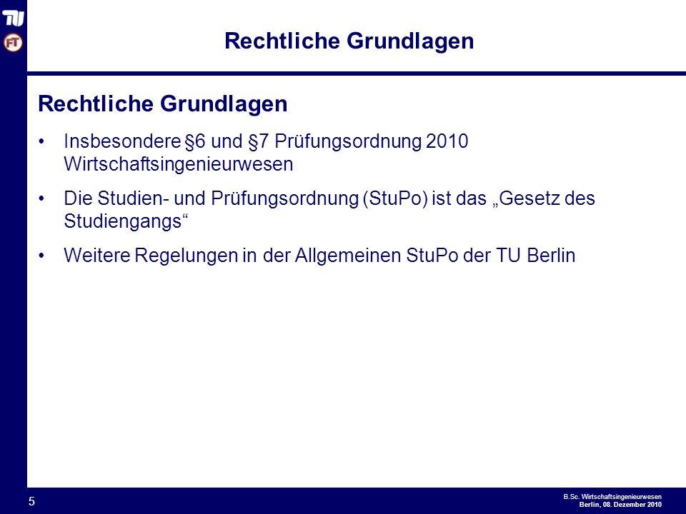 - 5 - B.Sc.Wirtschaftsingenieurwesen Berlin, 08.