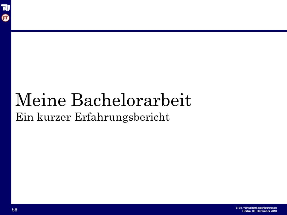 - 56 - B.Sc.Wirtschaftsingenieurwesen Berlin, 08.