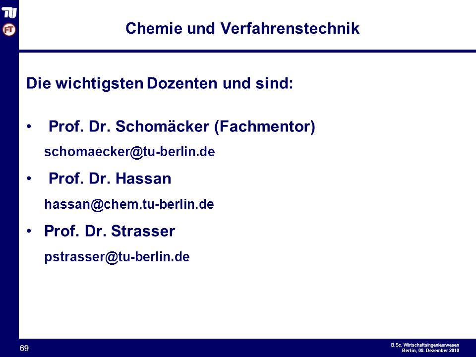 - 69 - B.Sc.Wirtschaftsingenieurwesen Berlin, 08.