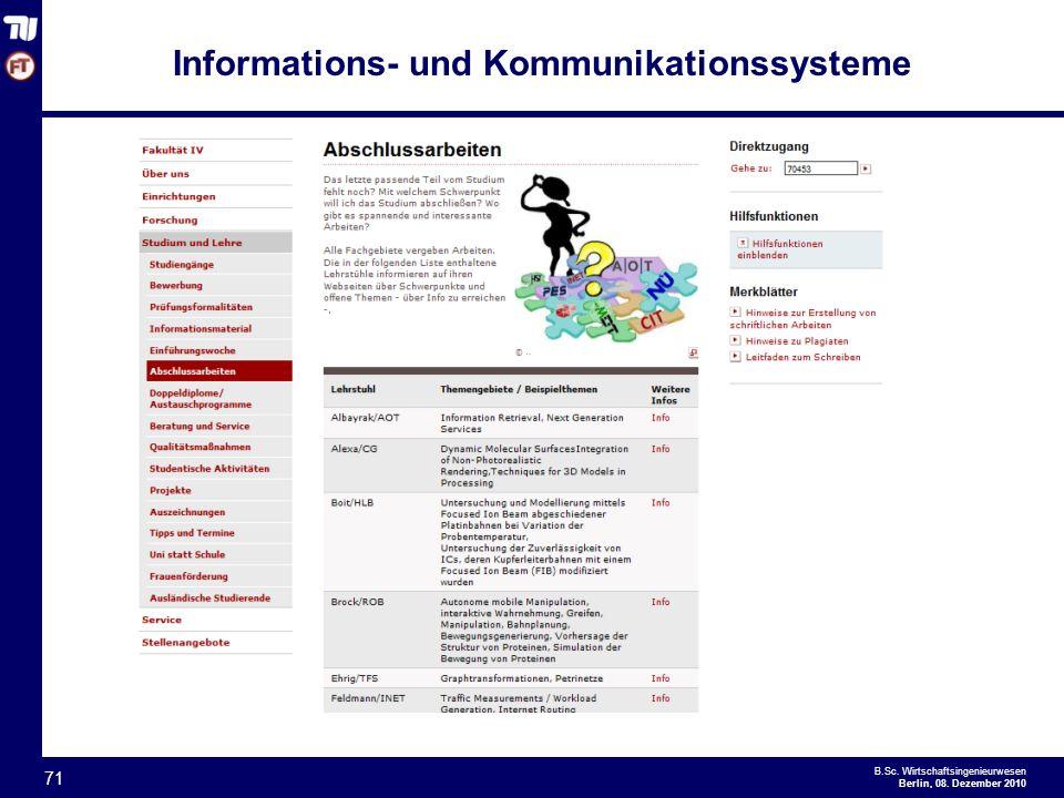 - 71 - B.Sc.Wirtschaftsingenieurwesen Berlin, 08.