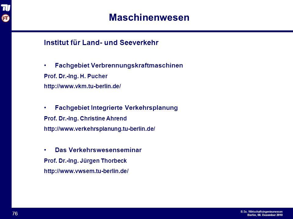 - 76 - B.Sc.Wirtschaftsingenieurwesen Berlin, 08.